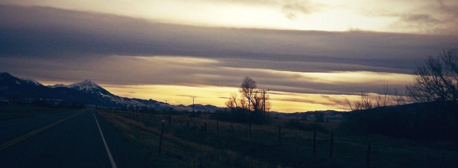 Sunset Over Emigrant Peak